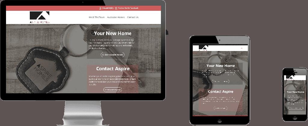 WEBSITE LAUNCH – Aspire Homes #DareToAspire