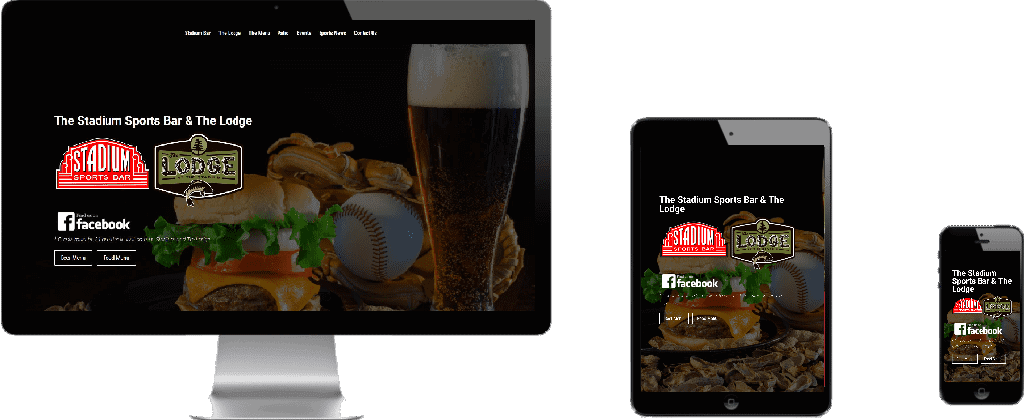 WEBSITE LAUNCH – Stadium Bar and The Lodge