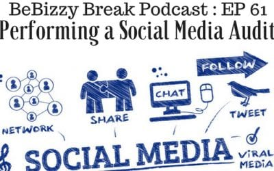 Performing a Social Media Audit – BeBizzy Break Podcast Episode 61