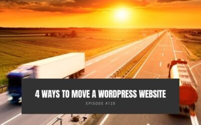 4 Ways To Move a WordPress Website
